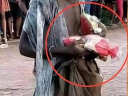 A mad man steals bread from a shop, I was surprised when I discovered what he does with it. Fiction