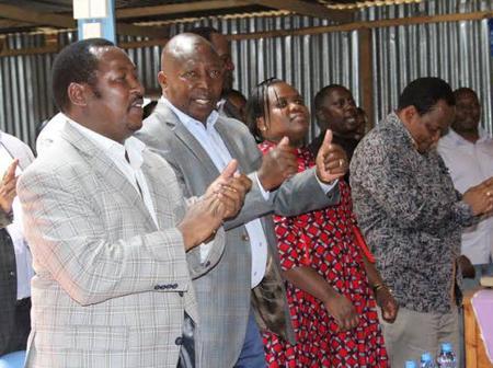 """Kinoti Ametuacha Kwa Matata"" Details of Alleged High Profile Meeting by Uhuru Allies After Kinoti's U Turn"
