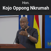 Biography Of Kojo Opong Nkrumah.