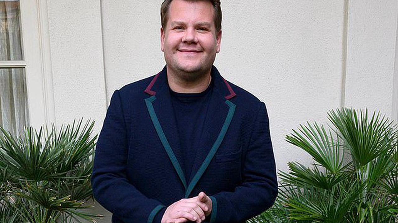 'The notion of going on a diet is wrong': James Corden reveals he has now shed 23lbs as he continues weight loss journey and puts success down to changing his eating habits