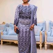 Meet The Tall And Beautiful Wife Of Former Gov. Rauf Aregbesola Who Is Still Looking Young At 60
