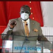 Magoha Gives Instructions To Examiners Tasked To Preside Over 2020 National Examination