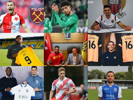 100% Completed, Latest Transfer Done Deals and Players To Undergo Their Medicals For New Clubs