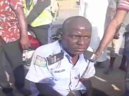 NPF arrest drunk Policeman in viral video