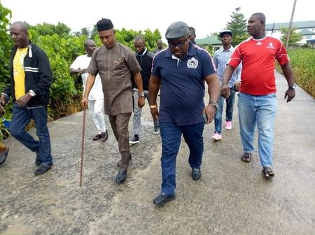 Bayelsa Commissioner For Special Project On Tour To Relocate The Popular  Tombia Market - Opera News