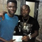 1st-Class Graduate Thanks Davido For Helping Back to University Abroad When All Seemed Impossible