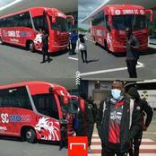 Tanzanian Football Giants Simba Sc Officially Unveils Their New Luxurious Bus.(Photos)