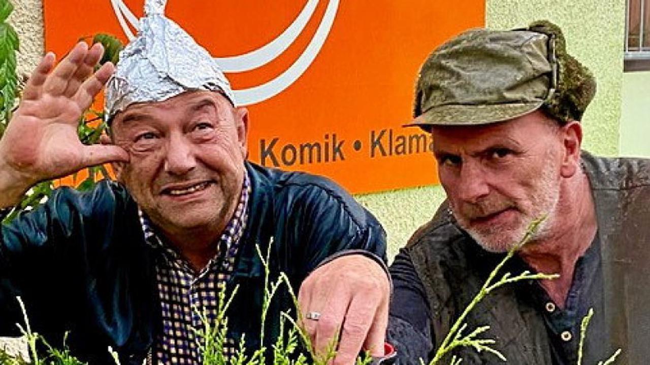 Kleine Komödie im Hugo in Gera: Türen auf beim Zank im Kleingarten