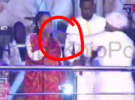 Cecilia Marfo snatches microphone from Joyce Blessing tell her to go back to her husband publicly.