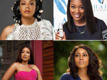 Between Jackie Appiah, Yvonne Nelson, Nadia Buari and Joselyn Dumas Who is The Most Beautiful Actress?