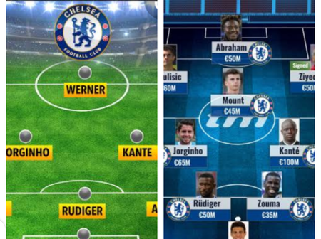 EPL: two possible ways Frank Lampard's Chelsea could Lineup and defeat Southampton 4_0