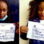 Uproar As Two Ladies' Plan To Make A Killing Is Thwarted By Police As They Withdraw Money From ATM
