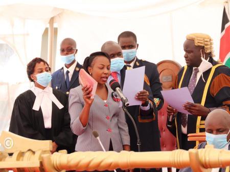 Lucy Ngendo Chomba Sworn in as Huruma Ward MCA
