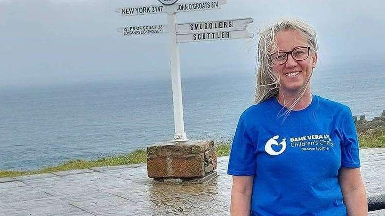 Sittingbourne hairdresser sets off on 1,000-mile trek from Land's End to John O' Groats for number of charities