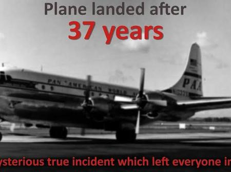 Check out more about the plane that went missing for 37 years and reappeared with everyone alive