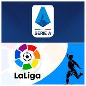 Spanish La Liga & Italian Serie A: Game Week Fixture, Table Assists & Top Scorer