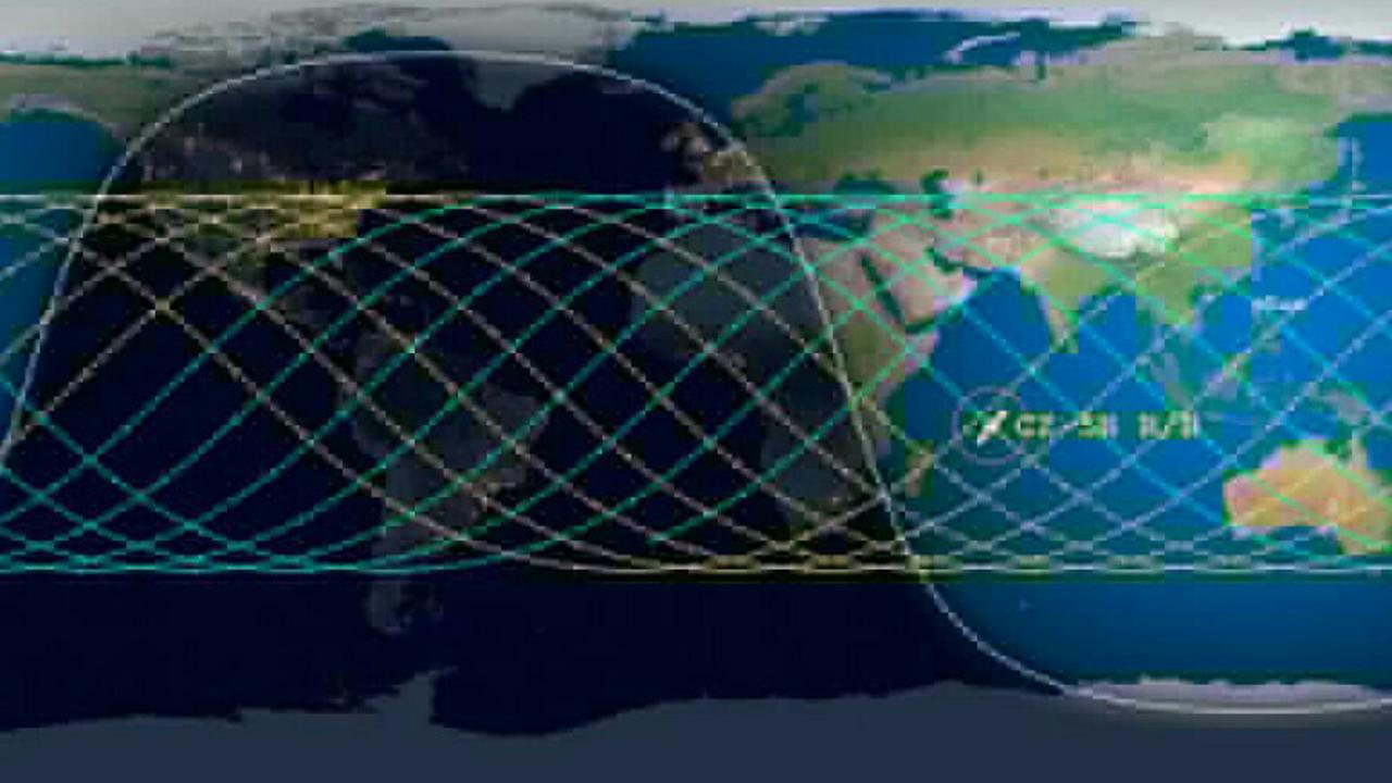 Dark Sunday: Chinese Rocket Set To Hit The Earth In A Few Hours Time, Kenya Is Along The Blue Path