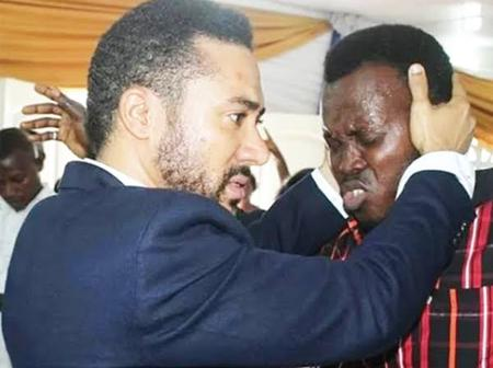 Check Out Some Recent Pictures Of Majid Michel Doing God's Work.