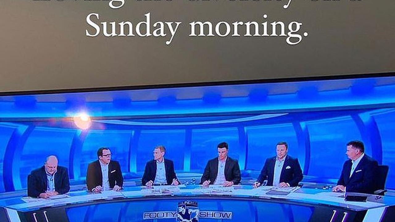 'Loving the diversity': AFL WAG blasts Channel Nine for having a panel of six white men present Footy Show