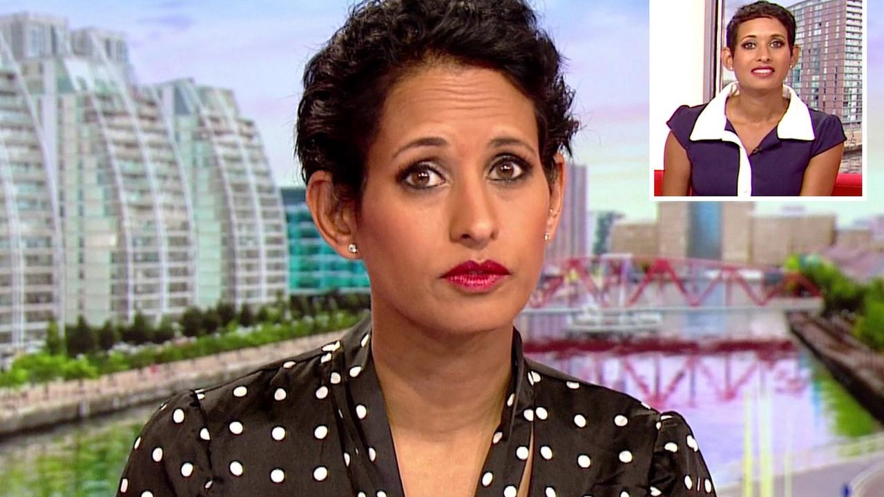 BBC's Naga Munchetty reveals she screamed in agony while getting the coil fitted
