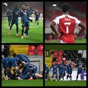 Arsenal Thrash Slavia Prague 4 - 0, In An Epic