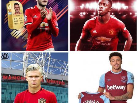 Latest Manchester United News: Updates On Icardi, Haaland, Dembele And Lingard