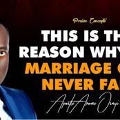 Why My Marriage Can Never Fail - Apostle Arome Osayi