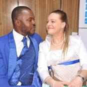 White Woman Travels Down To Nigeria To Marry Her Nigerian Man, Checkout How They Met