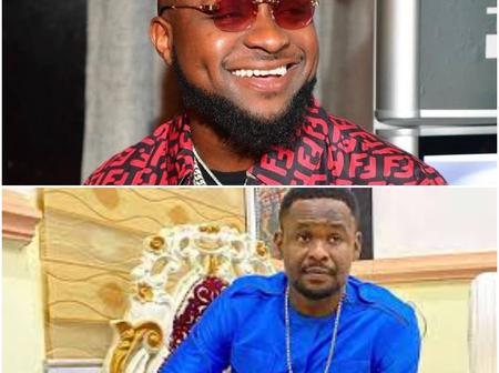 Zubby Michael Shares A Picture Of Himself And Davido
