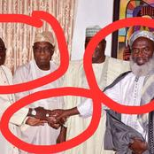 Throwback: See Pictures Of Sheikh Gumi Shaking Hands With Kukah, Oyedop, Obasanjo And Atiku