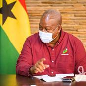 John Mahama Sends A Message To Ghana Over Covid-19