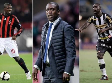 Punish Players Who Cover Their Mouth When Talking -Clarence Seedorf