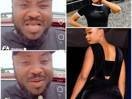 DKB: Everyone Is Supporting Her Because She Is A Woman But No One is Thinking About My Mental Health