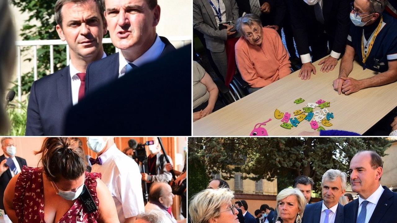 SAONE ET LOIRE : La visite de Jean Castex, en photos, du Creusot à Autun, en passant par Couches