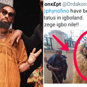 See What An Igbo Community Did Because of A Nigerian Popular Musician That Caused Reactions.