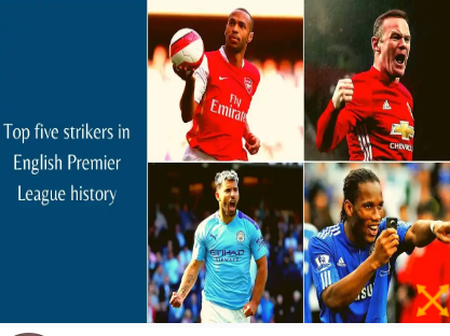Top five strikers in English Premier League history