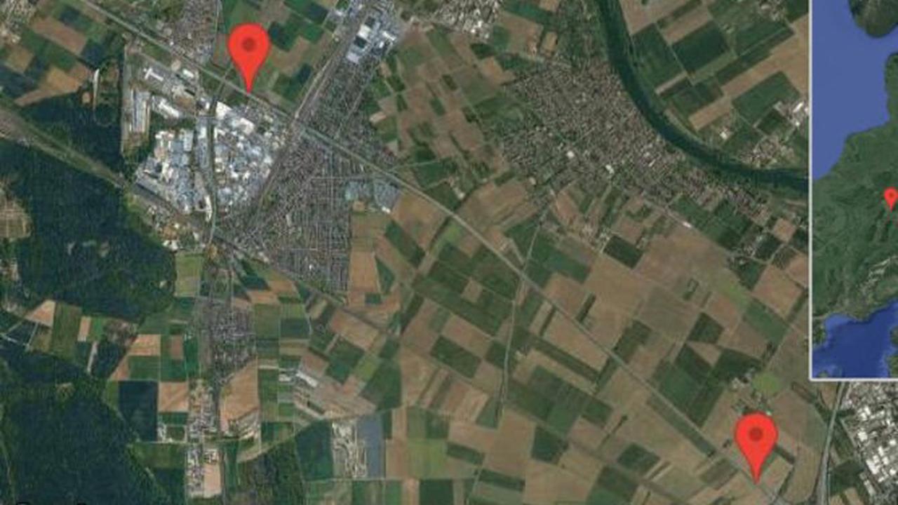 Heidelberg: Gefahr durch defektes Fahrzeug auf A 656 zwischen Heidelberg und Mannheim-Seckenheim in Richtung Mannheim