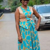 Kanze Dena's Photos Away From Television Looking Amazing