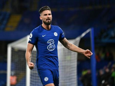 Oliver Giroud breaks record by scoring the highest headed goals in the Premier League since his debut