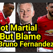 Stop Blaming Martial For Man UTD Draw With Liverpool, See The Player That Denied Man UTD The Win