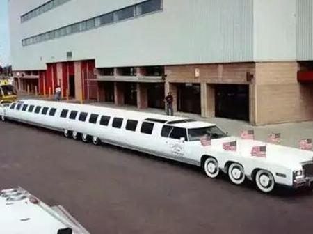 See The Longest Car In The World With Swimming Pool, 26 Wheels & Helicopter