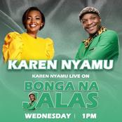 Kenyans React as Jalango Is Set To Hosts Karen Nyamu