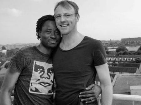 [Photos] From Homeless Boy To House Owner Bisi Alimi & Husband Acquired A Second House