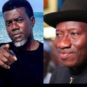 Former President Goodluck Jonathan Is Not Leaving The PDP, He Is A Very Loyal Man Just Like Me -Reno