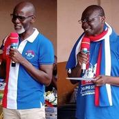 Ken Ofori Atta And Gabby Asare Causes Stir On Social media As They Step Out To Campaign For NPP