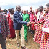Video-Dp Ruto Drives A School Bus at Ilnotiok Ground In Narok West