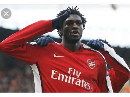 Remember Former Arsenal and Real Madrid Star Emmanuel Adebayor? He's currently a free agent