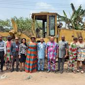 Obot Amara CounCil Chain flags off Grading of Local Roads