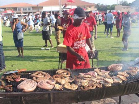 Braai man killed saving customer's meat from thieves