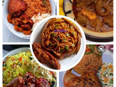 OPINION: Top 7 Most Delicious  & Classy Foods Eaten By Nigerians
